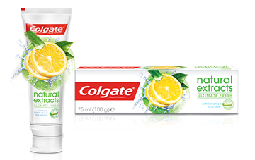 Picture of COLGATE NATURAL EXTRACTS LEMON OIL TOOTHPASTE 75ML