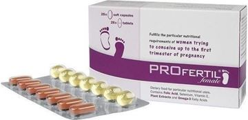 Picture of PROFERTIL FEMALE 28 CAP & 28 TAB