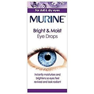 Picture of Murine Bright & Moist Eye Drops