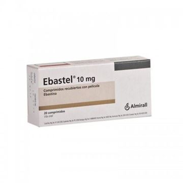 Picture of Ebastel 10mg  20tablets