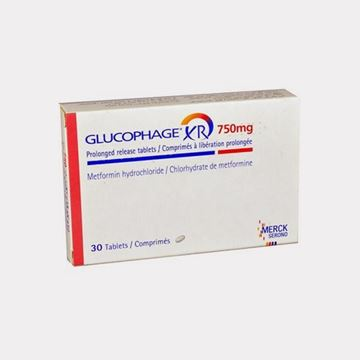 Picture of Glucophage XR 750mg