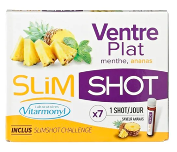 Picture of SLIM SHOT MENTHE ANANAS 7 VIALS 25ML