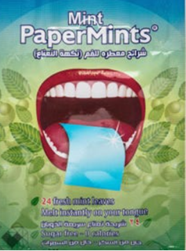 Picture of Paper Mints 24 Strips