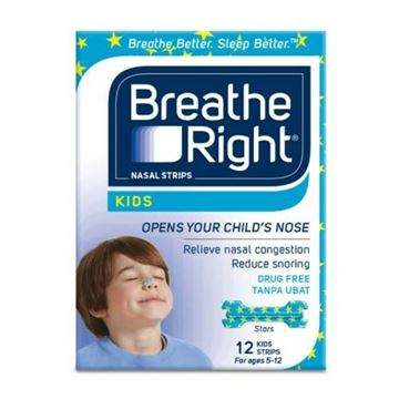 Picture of BREATHE RIGHT KIDS 12 STRIPS
