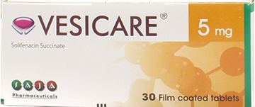 Picture of VESICARE 5MG 30TAB