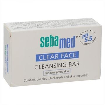 Picture of SEBAMED CLEAR FACE CLEANSING BAR 100 GM