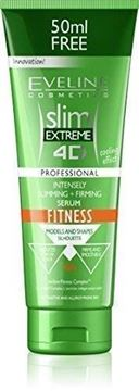 Picture of EVELINE 4D SLIMMING+FIRMING FITNESS SERUM 250ML