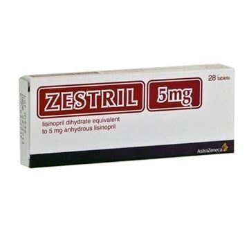Picture of Zestril 5mg 28Tablets