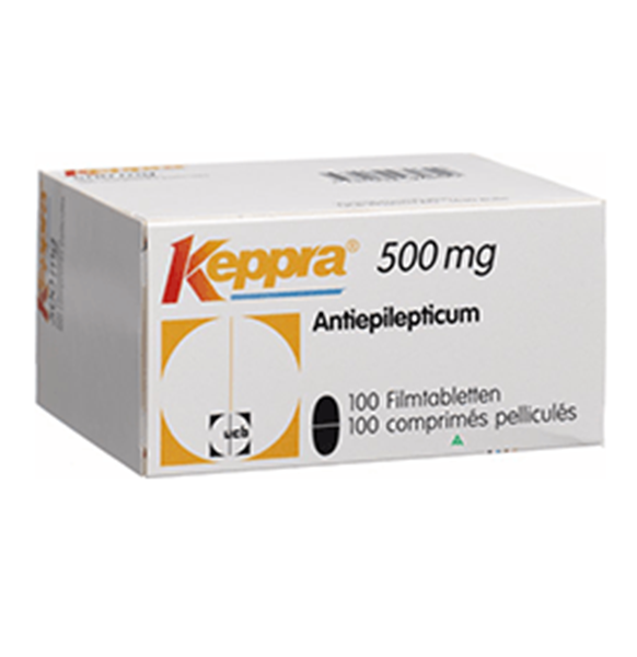Picture of KEPPRA 500MG 100 TAB