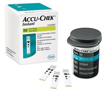 Picture of ACCU-CHEK INSTANT 50 STRIPS