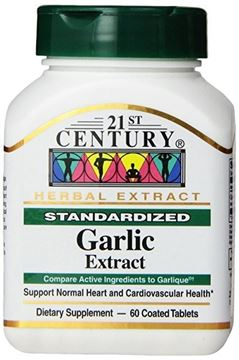 Picture of 21 CEN GARLIC EXTRACT 60 TAB