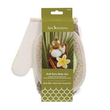 Picture of Cala Soft Terry Bath Set