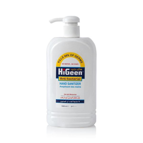 Picture of Higeen Hand Sanitizer  Gel (1 liter)