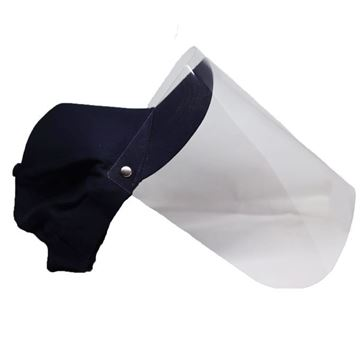 Picture of Cap Face Shield Dark Blue