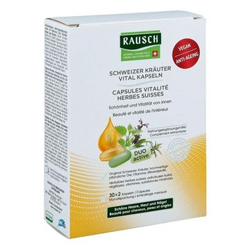 Picture of RAUSCH SWISS HERBAL VITALITY 30*2 Capsules