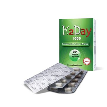 Picture of K2DAY 1000 30 CAPSULES