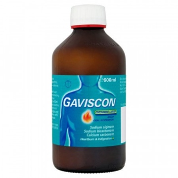 Picture of Gaviscon Peppermint Suspension 600 ml