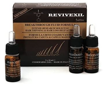 Picture of Cosmofarma Revivexil Breakthrough Scalp and Hair Therapy Fluid Formula, 3*10ml