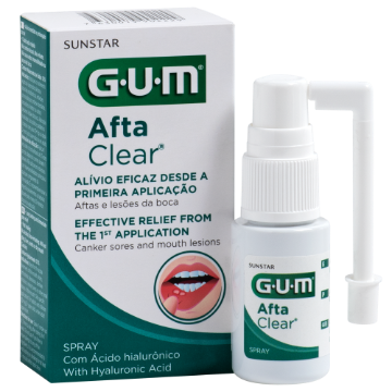 Picture of GUM AFTA CLEAR SPRAY 15ML