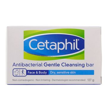 Picture of CETAPHIL ANTIBACTERL BAR 127 GM
