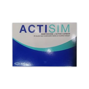 Picture of Actisim Active Carbon 20Tab