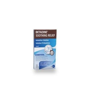 Picture of BETADINE SOOTHING RELIEF INHALATION SOLUTION 20 X 2.5ML
