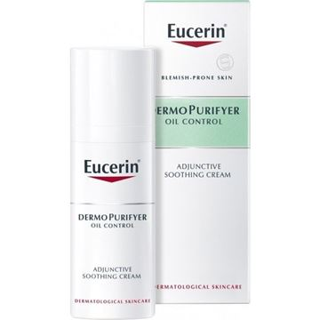 Picture of Eucerin Dermopurifyer Adjunctive Soothing Cream 50Ml