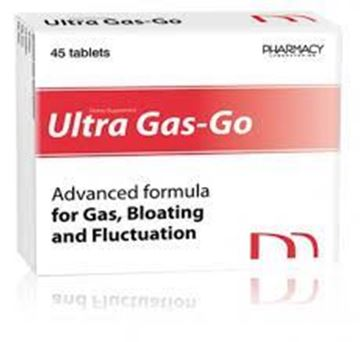 Picture of Ultra Gas-Go 45 Tablets