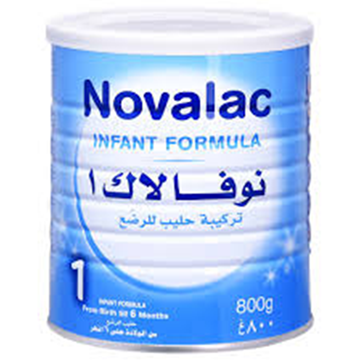 Picture of Novalac 1 Infant Formula From Birth Till 6 Months 800g