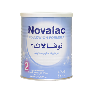 Picture of NOVALAC (NO 2) 400GM.