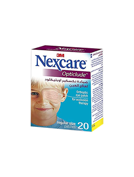 Picture of Nexcare Eye Patch Regular (1539) 20 Pieces