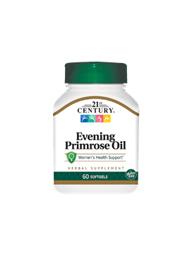 Picture of 21st Century Evening Primerose Oil 60 Tablets