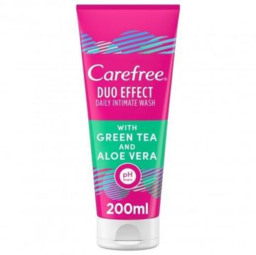 Picture of Carefree Intimate Wash Green Tea & Aloe Vera 200ml