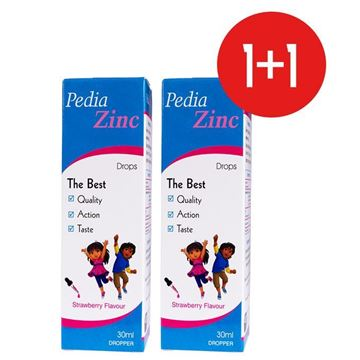Picture of Pedia Zinc Drops 30ml (1+1) OFFER