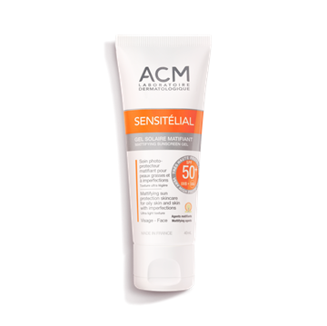 Picture of ACM Sensitelial Matifying Sunscreen Gel SPF 50+ 40ml