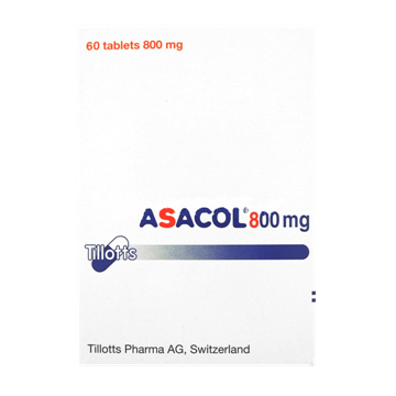 Picture of Asacol 800mg 60Tablets
