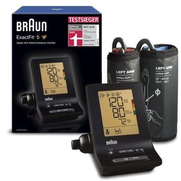 Picture of Braun ExactFit 5 - BP6200 Upper Arm Blood Pressure Monitor