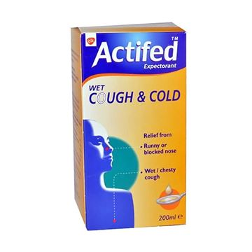 Picture of Actifed Cough & Cold 200ml