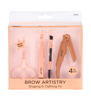 Picture of CALA BROW ARTISTRY SHAPING & DEFINING KIT 4PCS SET 50961