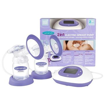 Picture of LANSINOH 2 IN 1 ELECTRIC BREAST PUMP