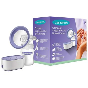 Picture of LANSINOH COMPACT SINGLE ELECTRIC BREAST PUMP
