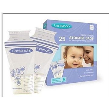 Picture of LANSINOH BREAST MILK BAG 25PCS