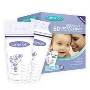 Picture of LANSINOH BREAST MILK BAG 50PCS