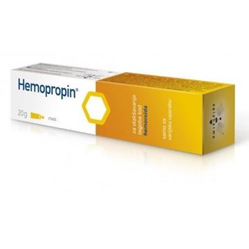 Picture of HEMOPROPIN PROPOLIS OINTMENT 20GM.