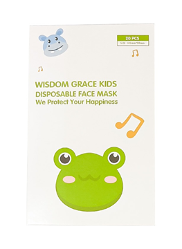 Picture of FACE MASK WISDOM GRACE KIDS 20 PIECES