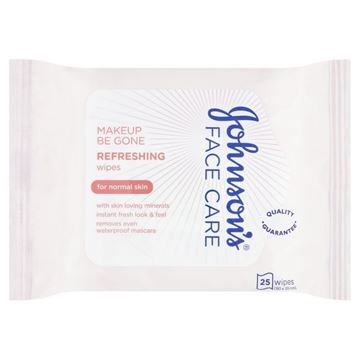 Picture of JOHNSON'S DAILY ESSENTIAL REFRESHING (NORMAL SKIN)25 WIPES