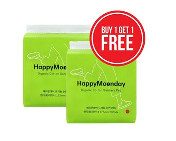 Picture of Happy Moonday Long Liner 20Pads X2 Offer
