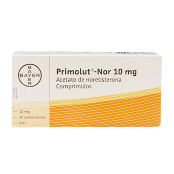 Picture of Primolut N Tablets 10mg