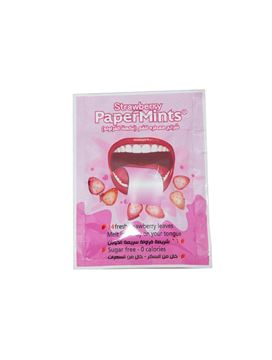 Picture of Papermints 24Strips Strawberry