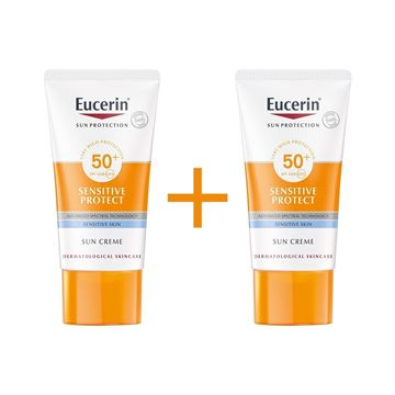 Picture of EUCERIN SENSITIVE PROTECT SUN CREAM SPF 50+ (1+1) OFFER